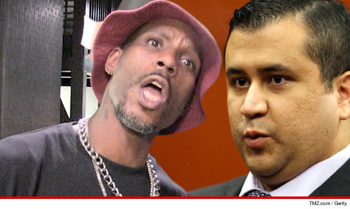 0131 dmx article tmz getty 2 George Zimmerman Will Meet DMX In Celebrity Boxing Match