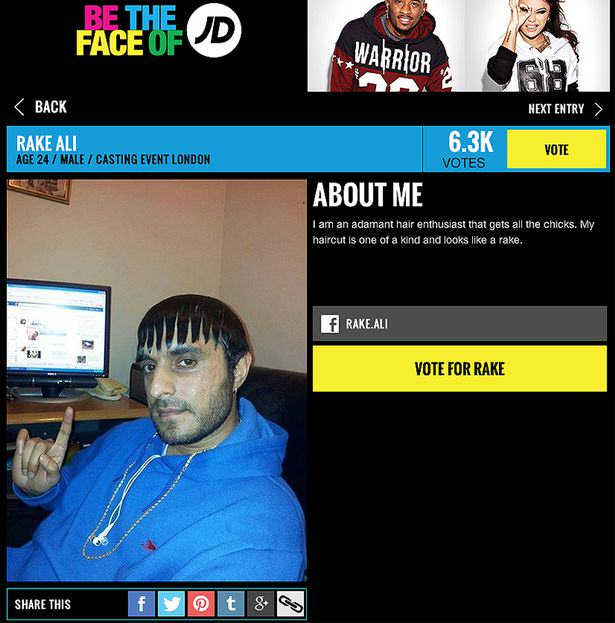 Face of JD 3116659 Ladies Man Rake Ali Is About To Become The Face Of JD Sports