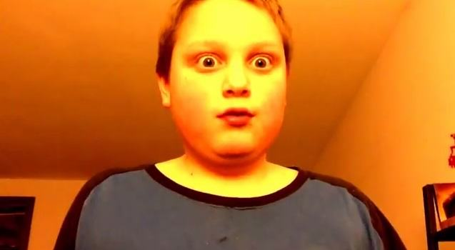 image3 Young Lad Celebrates 1 Youtube Like, Asks For 3 More, Then Reddit Discover Him