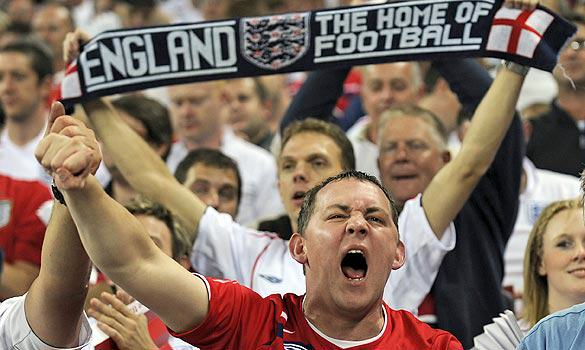 England Football Fans England Fans Ranked Top Of Social Media World Cup