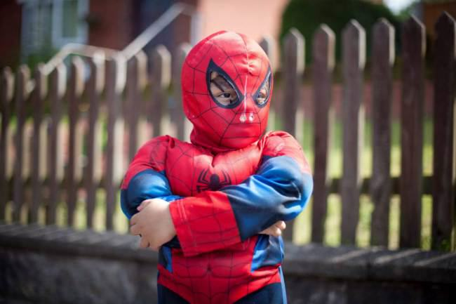 ad 137744615 Four Year Old Spiderboy Keeps Escaping From Home