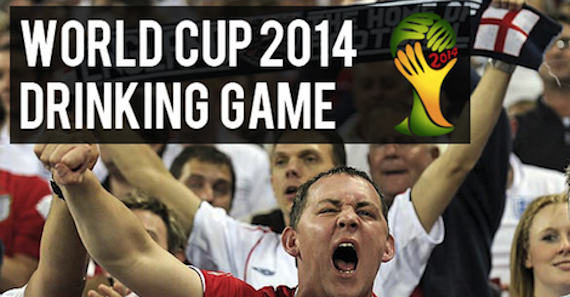Rio World Cup 2014 Drinking Game