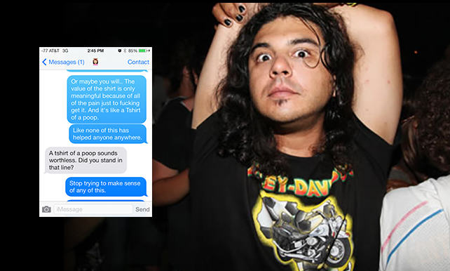 132 Guy Gets High On Mushrooms At Comic Con, His Texts Are Incredible