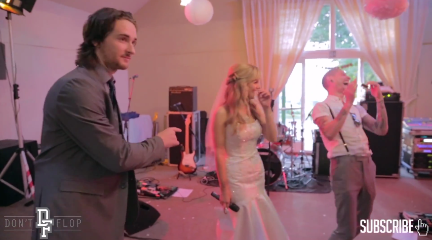 22 Two Battle Rappers Crash A Wedding With An Epic Speech