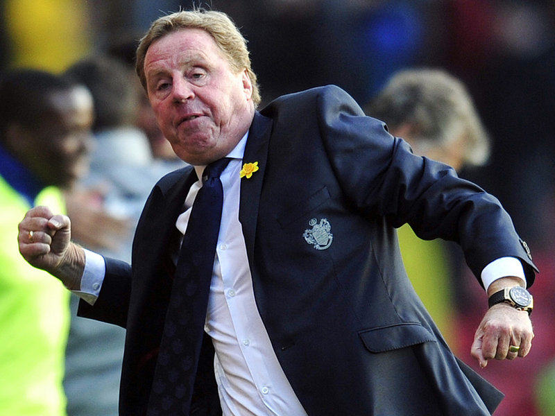 Harry Redknapp celeb at Southampton 2908958 QPR Set To Sign Ronaldinho On A One Year Deal