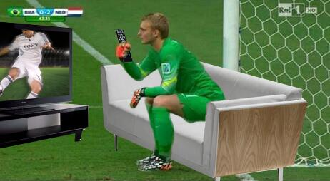 jasper 5 Jasper Cillessen Sits Down During Holland Vs Brazil, World Reacts
