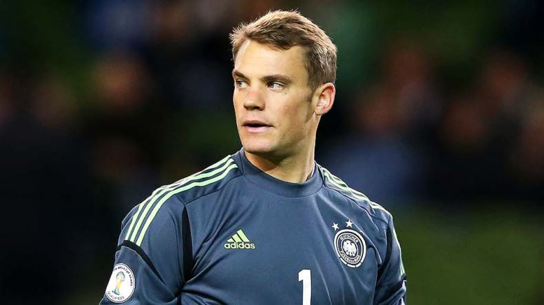 manuel neuer germany national team goalkeeper world cup 2014 790x443 2014 World Cup Team Of The Tournament