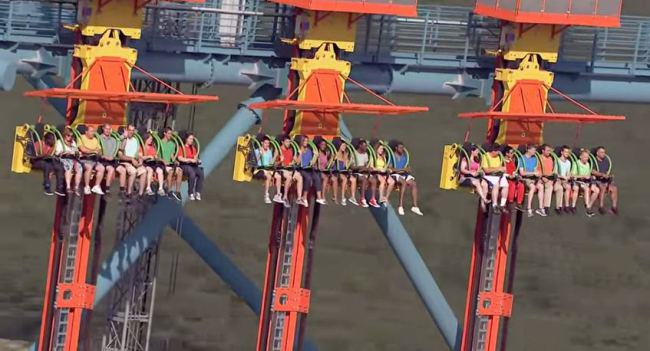 ride The Worlds Tallest Drop Ride Is Not For The Faint Hearted