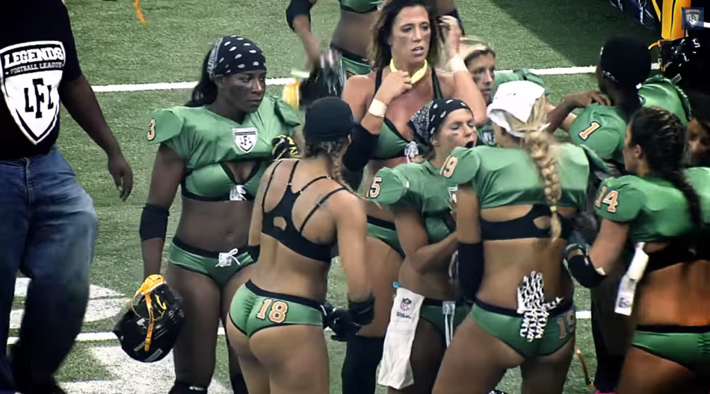 21 Womens American Football Is Brutal But Sexy