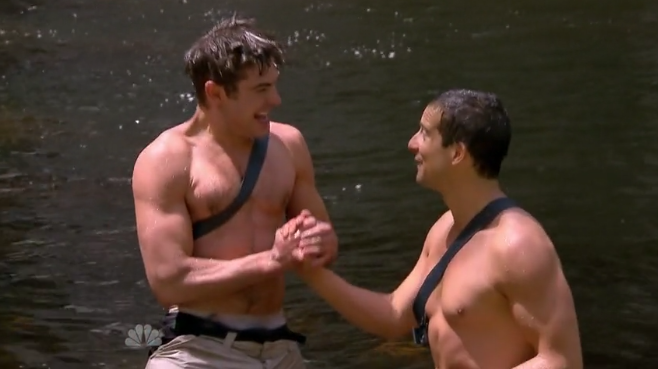 Zac Efron And Bear Grylls Into The Wild Bromance k5R1XmK
