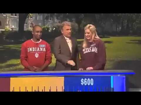 most unfortunate wheel of fortun Most Unfortunate Wheel Of Fortune Contestant Ever