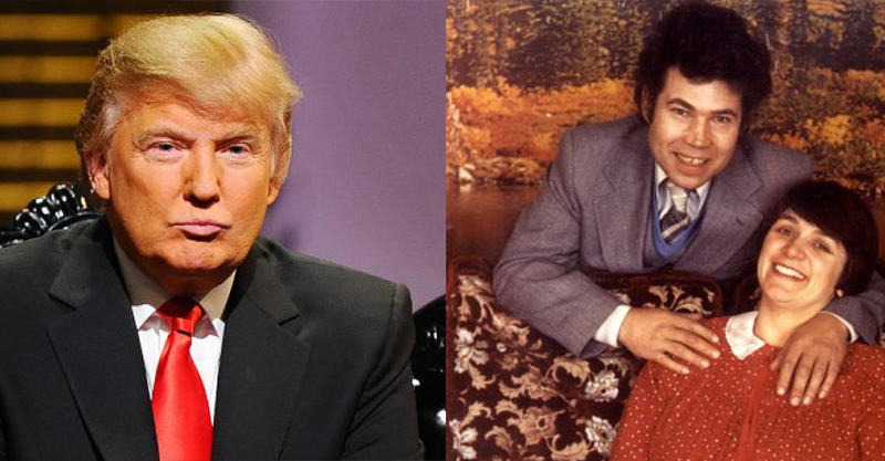21 Donald Trump Trolled Into Retweeting Pic Of Fred And Rose West