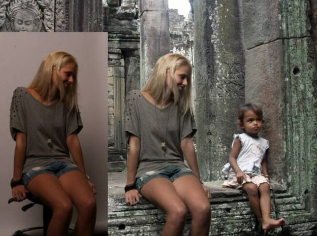 ad 145322944 e1410342350853 Dutch Girl Fakes Dream Travelling Holiday Using Photoshop