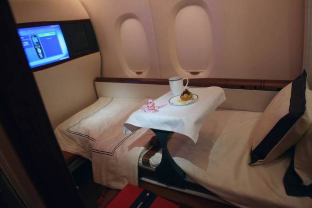 ad 147079603 Onboard Airliners With Insane First Class Cabins