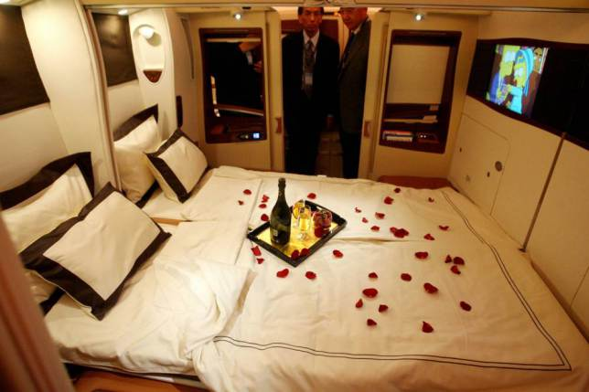 ad 147079611 Onboard Airliners With Insane First Class Cabins