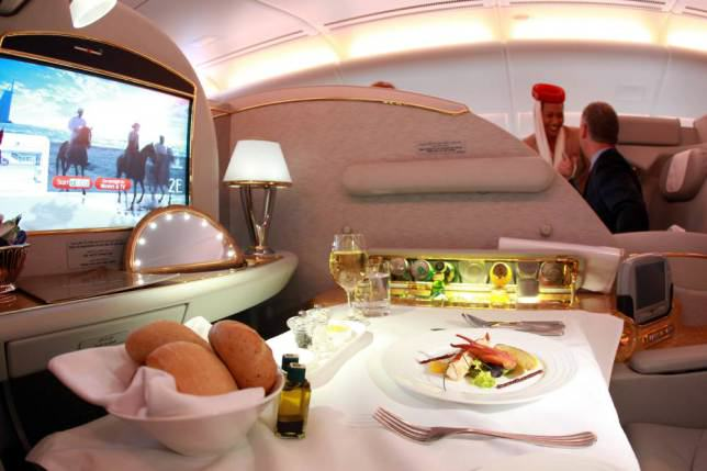 ad 147079720 Onboard Airliners With Insane First Class Cabins