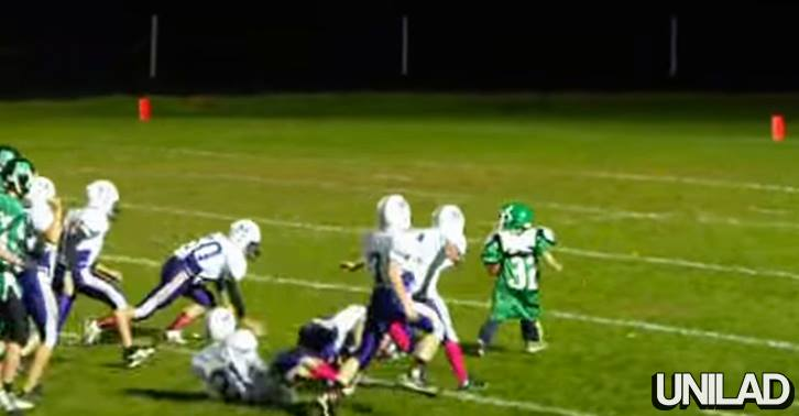10408075 10152783593530549 5060740179780492848 n Entire Football Team Let Little Lad Score Epic Touchdown