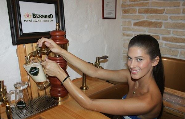 383 Beer Spa In Prague Allows You To Get Wasted While Bathing In Beer