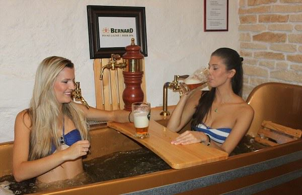 574 Beer Spa In Prague Allows You To Get Wasted While Bathing In Beer