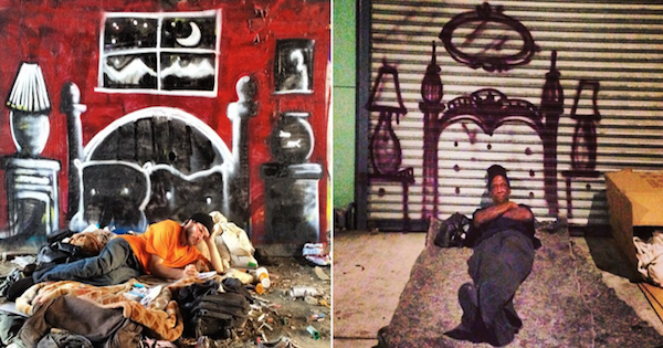 Graffiti Art elite daily Graffiti Artist Makes Homeless Peoples Dreams Come True