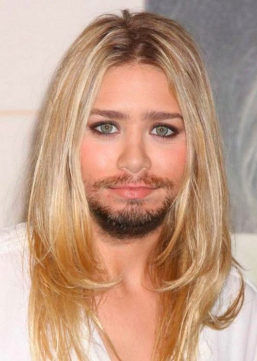 enhanced buzz 17485 1334228731 3 Nine Usually Hot Female Celebrities With Beards
