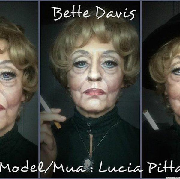 o BETTE DAVIS MAKEUP 900 This Makeup Artists Transformations Are Unreal