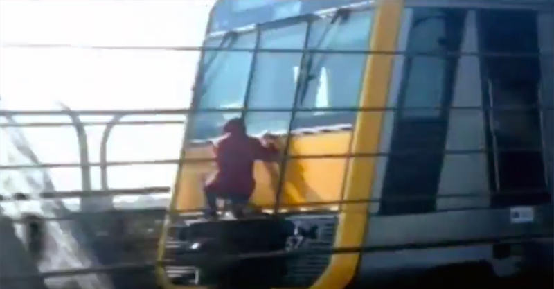 Teenagers Playing With Death In New Train Surfing Craze 26