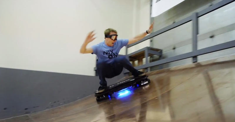 262 Tony Hawk Rides Worlds First Real Hoverboard