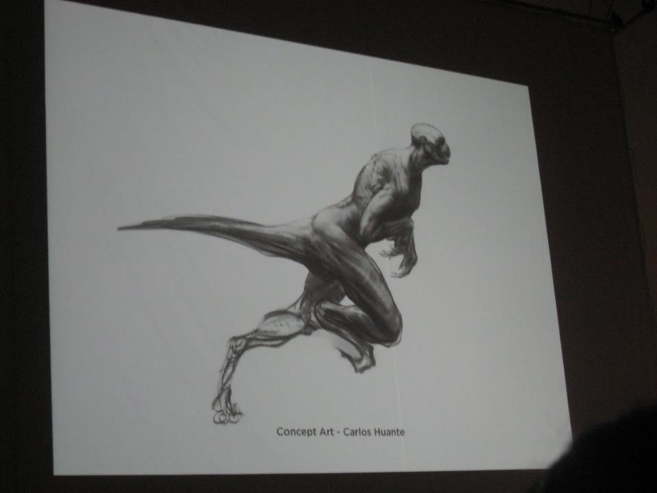 Ml13KhS Concept Art For Jurassic Worlds Original Human Dinosaur Hybrid Idea