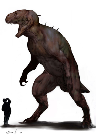 MqeiiPE Concept Art For Jurassic Worlds Original Human Dinosaur Hybrid Idea