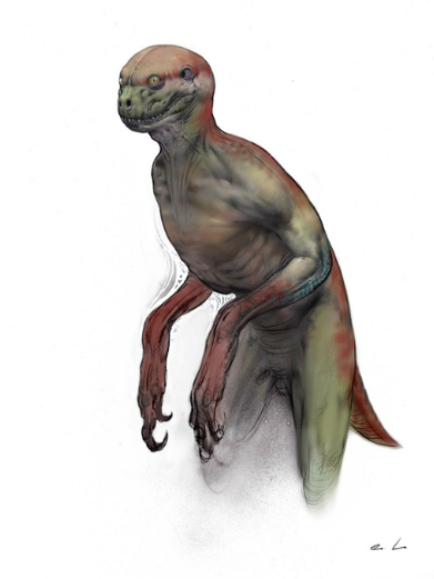 VsNac0S Concept Art For Jurassic Worlds Original Human Dinosaur Hybrid Idea