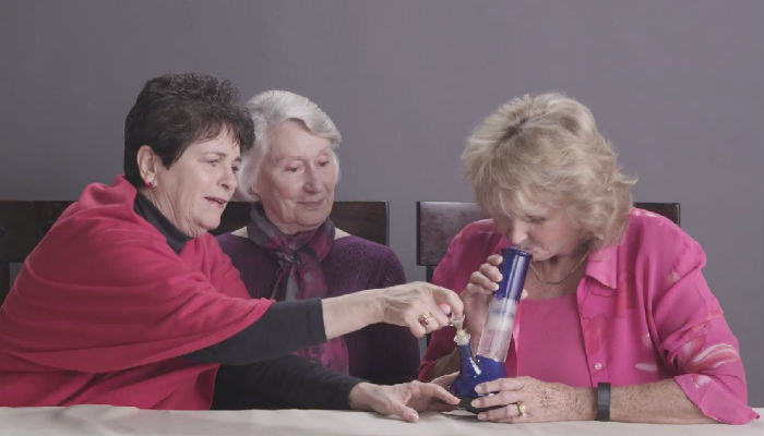 grannies web thumb Three Grannies Get Completely Stoned Smoking Weed For The First Time