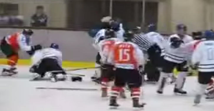hockey web thumb China Vs Japan In Massive Ice Hockey Brawl