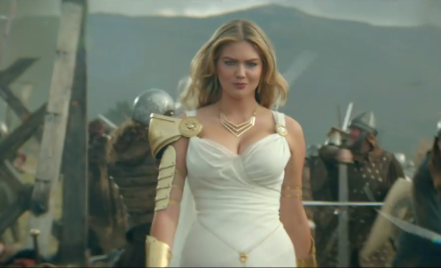 kate upton game of war Kate Upton Is Firing All Cylinders In New Game Of War Advert