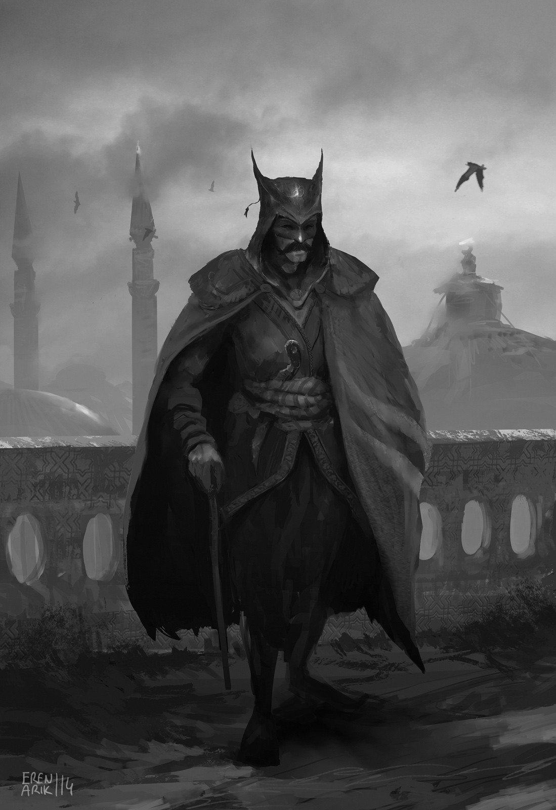 ottomanbatman This Alternative Batman Fan Art Is Seriously Cool