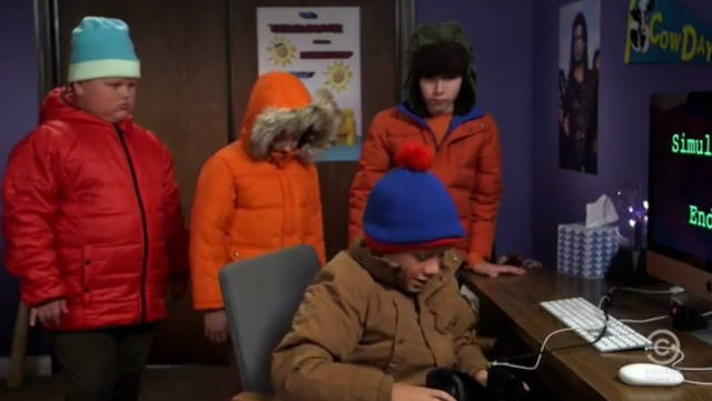 q South Park In Real Life Is Amazing