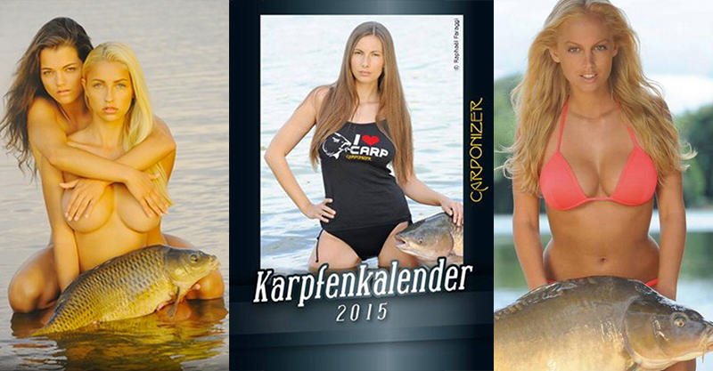 156 This Calendar Dedicated To Carp And Naked Women Is A Real Thing
