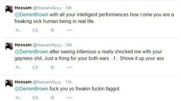Derren 1 Derren Brown Deals With Homophobic Abuse Like A Boss