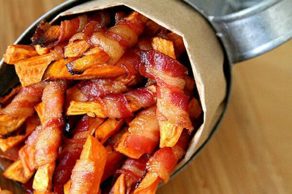 bacon chips Food Porn To Get You Through Your Hangover