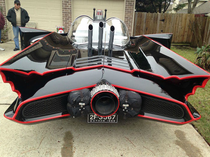 bat16 Man Completes Batmobile After 9 Years Of Work