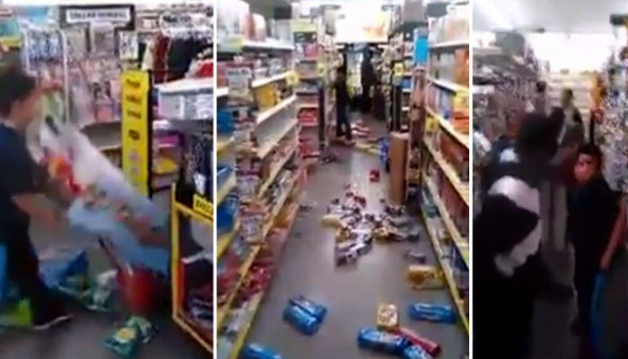brat web thumb Little Kid Completely Destroys Everything In An American Dollar Store