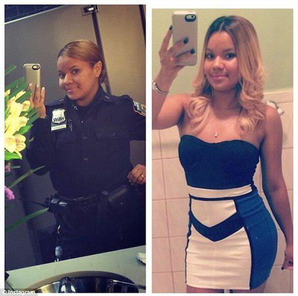 cop 1 Female New York Cops In Trouble For Taking Sexy Selfies