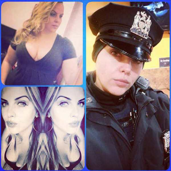 cop 4 Female New York Cops In Trouble For Taking Sexy Selfies