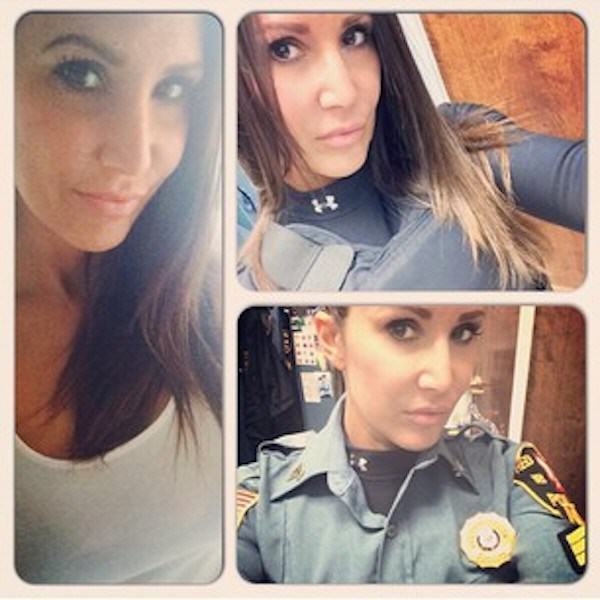 cop7 Female New York Cops In Trouble For Taking Sexy Selfies