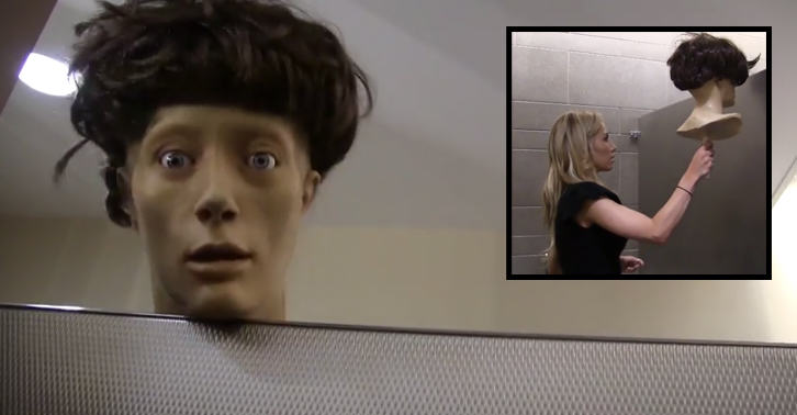 fbthumb2 This Mannequin Head Absolutely Freaks Out Girls On The Toilet