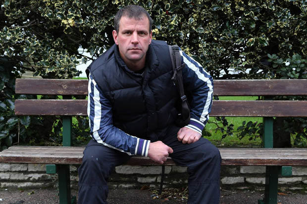homeless soldier 413729 British Army Veteran Left Homeless Because Hes Not A Priority Case