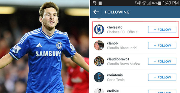 19 Messi And Wife Hint At Chelsea Switch On Twitter And Instagram