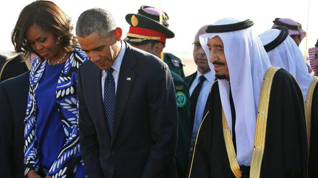 Michelle Obama Sparks Outrage, Doesn't Wear Headscarf In Saudi Arabia