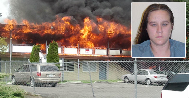 MacBurnie fb thumb Woman Named Jackie McBurnie Arrested For Arson, Obviously