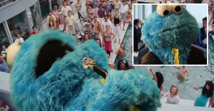 This Wolf Of Wall Street Parody Featuring The Cookie Monster Is Epic cookie fb thumb